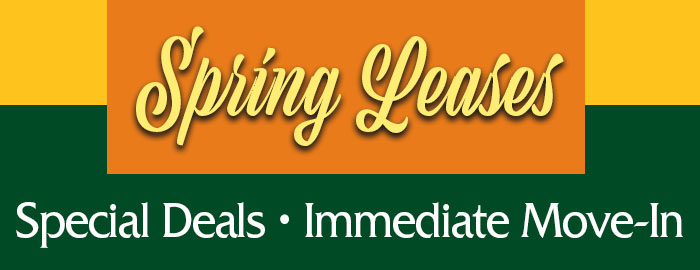 Spring 2019 Leases Available